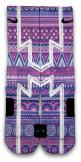 Featuring a cool purple pattern and cut-in white lines. This pair is available in Elite and CES Customs.: Socks Nike Elite, Custom Nike Elite, Nike Elite Sock, Elite Socks, Nike Shoes, Nike Free