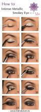 I have been doing metallic Smokey eyes a lot recently! I think it is a gorgeous and bold look for the winter...pair it with a red lip and you are ready for a party!: Makeup Tutorial, Metallic Smokey, Eyeshadow, Brown Eye, Smoky Eye, Smokeyeye, Eyemakeup,