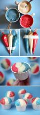 Top 10 Remarkable 4th of July Desserts: Idea, Sweet, Snow Cones, Food, July Cupcake, 4Th Of July, Snow Cone Cupcakes, Dessert