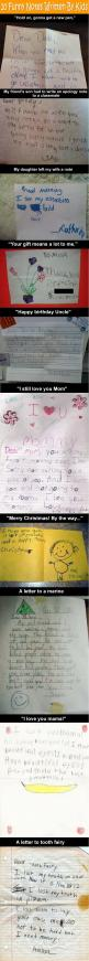 10 Funny Notes Written By Kids.: Giggle, 10 Funny, Funny Stuff, So Funny, Smile, Kid