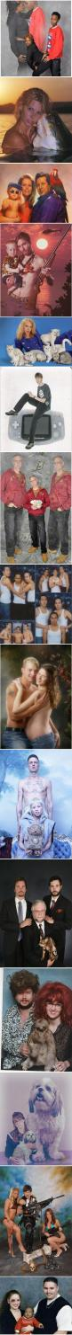Seriously, what the heckkkk?: Wtf Portraits, Ummm What, Picture, Giggle, Cant, Awkward Photos, Awkward Family Photos