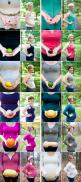 This is such a fun way to document your pregnancy and growth of the baby. Pregnant moms are always aware of the size chart by fruit for developing babies and turns out its a cute way to document the each step of the way.: Picture, Baby Announcement, Mater