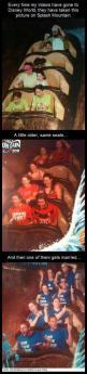 """I love the guy in the top of the bottom picture because he's like """"what is happening here?"""": Funny Splash Mountain Pictures, Mother In Law, Funny Family Photos, Disney This, So Funny, Disney Pixar Dreamworks"""
