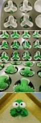 Shamrock Cupcakes! Interesting!