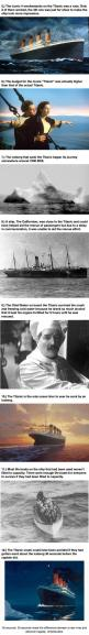 The Titanic would ironically have survived if it had hit the iceberg head on instead of along the side: Know Hacks Facts, Facts Illusions, Ironic Facts, Titanic Facts History, Strange Facts Unbelievable, Unbelievable Facts, Fun Facts, 103 Years