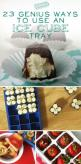 23 Genius Ways To Use An Ice Cube Tray, These are genius, and many of them involve desserts...brilliant!: Food Tip, Kid Cake Idea, Ice Cube Tray
