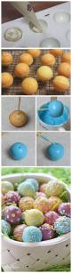 Skinny Easter Egg Cake Balls - instead of an egg party - I'm decorating cake balls! :): Easter Cake, Cake Pops, Cake Balls, Easter Eggs, Pop Cake
