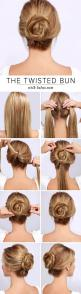 4. #Twisted Bun - 16 Gorgeous Hair #Styles for Lazy Girls like Me ... → Hair #Twist http://www.jexshop.com/: Twisted Bun, Hairstyles, Hair Styles, Hairdos, Hair Bun, Hair Tutorial, Hair Do, Updo