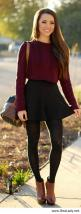 Cute fall outfit: Fall Outfits, Winter Outfit, Cropped Sweater, Cute Outfit, Skater Skirts, Fall Winter, Crop Top