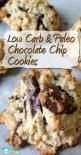 Low Carb and Paleo Chocolate Chip Cookie Recipe | http://www.grassfedgirl.com/low-carb-paleo-chocolate-chip-cookie-recipe/: Paleo Chocolate Chip Cookie, Low Carb Cookie Recipe, Paleo Sweet, Chocolate Chips, Carb Sweet, Low Carb Treat, Paleo Cookie Recipe,