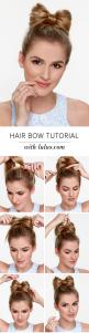 There just might be a new beau in your life when you try out this adorable Hair Bow Tutorial! Find the full tutorial on the LuLu*s blog now!: Hair Bow Tutorial, Hairstyles Bows, Hair Styles, Hair Bow Hairstyles, Easy Bow Hairstyles, Hair Bows, Bow Hairsty