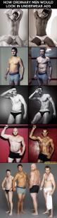 Hilarious: Men Looks, Giggle, Underwear Ads, Body Image, Men'S, Funny, Real Men