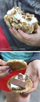 Chocolate Chip Cookie S'mores. Why didn't I think of this before? #recipe on foodiecrush.com: Cookie S More, Chocolate Chip Cookie Recipe, Smores Dessert, Camping Dessert, Smores Chocolate Chip Cookie, Smores Cookie, Cookie Smore, Cookout Dessert, Smo