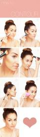 How to contour - LOVE THIS! Contouring your face is so crucial! It seriously changes the look of your face..in a good way! #makeup #bronzer #howto: Contours, Face, How To Contour, Make Up, Beauty Tips, Makeup Tips, Beauty Basic, Hair Makeup, Lauren Conrad