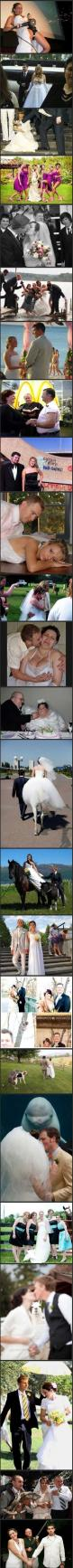 Mostly unfortunate wedding photos.. So so bad and yet so funny! CAN'T STOP LAUGHING: Awkward Wedding, Giggle, Wedding Photos, Funny Wedding, So Funny, Wedding Pictures