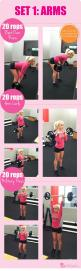 Sculpt Your Guns | GirlsGuideTo: Workout Wednesday, Dumbbells Weights, Fitness Workouts Health, Guns, Fitness Exercise, Exercise Workout, Arm Workouts