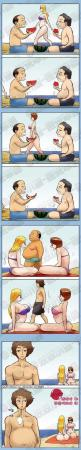 The nature of humans…: Beaches, Funny Pictures, Comic, Human Nature, Funny Stuff, Funnies, Humor