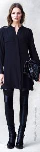 Belstaff Pre-Fall 2014 It's all about the Black on Black