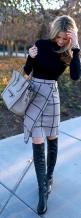 I love funky skirts in the workplace--provided they're an office appropriate length!: Wrap Skirts, Winter Skirt, Dress, Street Style, Fall Fashion, Fall Outfit, Work Outfits, Fall Winter