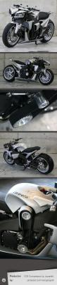 The amazing FZR Compressor by Lazareth #custom #motorcycle #tuning  - more amazing cars here: http://themotolovers.com: Cars Motorcycles, Custom Motorcycles, Motorcycle Tuning, Motorcycles Atv, Concept Bike, Sweet Concept, Compressor Motorcycle, Custom At