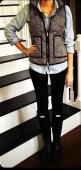 herringbone vest: Rainboot, J Crew Vest, Hunter Boots Outfit, Preppy Outfit, Fall Outfit, Fall Winter