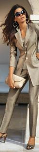 Love this outfit, women office wear: Fashion Designer, Fashion Style, Business Attire, Office Wear, Work Outfit, Interview Outfit, Women Suits Business