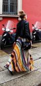 maxi and leather jacket. Perfect for a concert! Wear something cute under the leather jacket in case you start groovin' :): Maxi Dresses, Fashion, Street Style, Maxis, Outfit, Long Skirts, Leather Jackets, Maxi Skirts