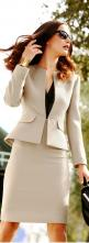 Tahari Arthur S. Levine ● Elegant skirted suit: Styled Outfit, Business Outfit, Professional Work Outfit, Skirt Suit, Business Professional Outfit