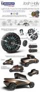Transformer Concept by Joshua Holly - Design Panel: Holly Design, Concept Vehicles, Car Design Panel, Concept Cars, Antique Cars, Tyre Design, Car Panel Design