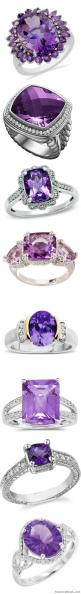 Which amethyst ring would work for you?