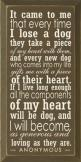 It came to me that every time I lose a dog they take a piece of my heart with them, and every new dog who comes into my life gifts me with a piece of their heart. If I live long enough all the components of my heart will be dog, and I will become as gener