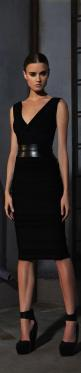 Hervé Léger By Max Azria ● PRE-FALL 2013- Simple yet elegant.  This will be classic for years to come.: Nice Dresses, Little Black Dresses, Dress Allblackeverything, Dress Shoes, Dress Hervé