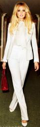 Kate Upton in Gucci pant suit... new longer jacket with shoulder pads. She's so Beautiful...: Pant Suits, Upton White, All White, Fashion Style, Kate Upton, Harpers Bazaar, White Pants, White Suits, Pantsuit