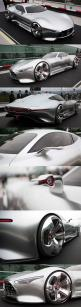 Mercedes-AMG Vision Gran Turismo concept...yeah it's cool that they made the car that was in the game, but it's just a shell, no machinery to make it go VROOM! If you're going to do something like this it needs to go VROOOOM!!!!!