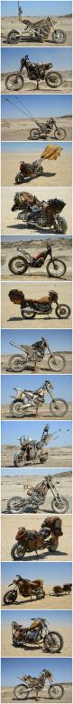 The custom motorcycles of Mad Max: Fury Road - Imgur: Ratbike, Custom Motorbikes, Mad Max Motorbike, Custom Motorcycles, Max Motorbikes, Mad Max Bike, Mad Max Motorcycle, Custom Bike, Design