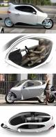 C-1 Electric Vehicle // Is it a motorcycle? Is it a car? Yes to both.: Small Cars, Motorcycle Car, Cars Collection, Concept Cars, Electric Cars, Electric Vehicle, Cars Don T
