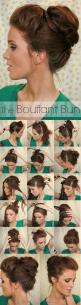 Super Easy Knotted Bun Updo and Simple Bun Hairstyle Tutorials - BeaLady.net: Messy Bun, Hairstyles, Hair Styles, Hair Tutorial, Top Knot, Updo, 10 Second