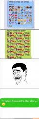 Hahah :) / iFunny :): Funny Texts, Emoji Life, Giggle, Funny Stuff, Life Stories, Funny Kristen Stewart, Funny Text Message