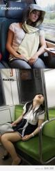 sadly true!: Fall Asleep, Falling Asleep, Bus, Funny, So True, Expectation Reality, Expectation Vs Reality