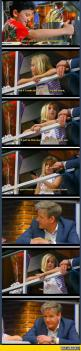 A 9 Years Old Girl On Master Chef. The Last Picture Is A Face Of Fear: Faces, Girl, Master Chef, Funny Pictures, Gordon Ramsey, Funny Stuff, Funnies, Gordon Ramsay, Kid