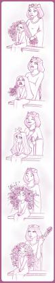 """This may be from the movie """"Brave"""" but it's basically the story of my hair growing up! lol: My Childhood, Disney Lol, Curly Hair Problems, Mom And Daughter, Disney Princess, My Life, Merida S Hair, Morning, Curly Girl"""