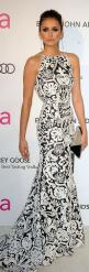 Red Carpet Glamour: Nina Dobrev after Oscar party 2013 wearing  Naeem Khan  | The House of Beccaria